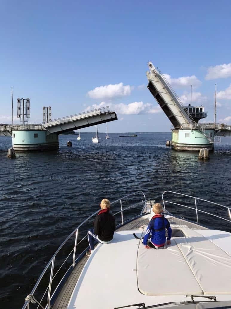 Båd og bro Foto Merethe Nordjordet