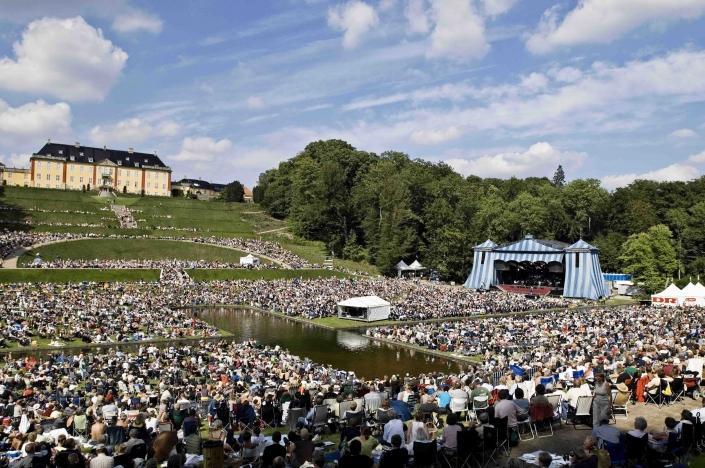 DRs koncert i Ledreborg slotspark