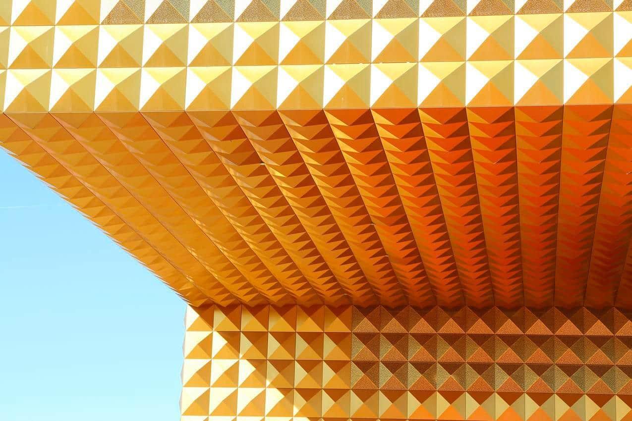 RAGNAROCKS karakteristiske facade. Foto: Museumskoncernen ROMU