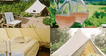 glamping Pop up beds