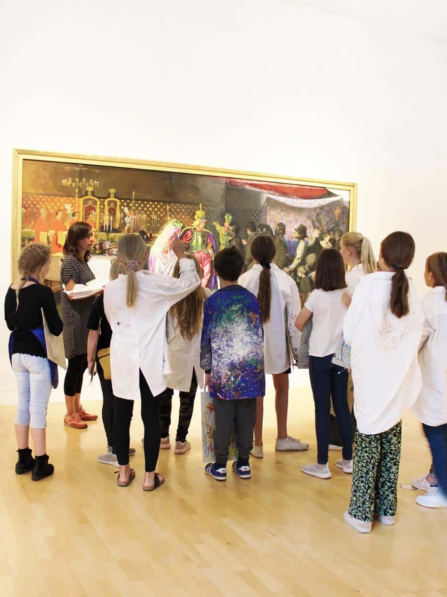 Børneomvisning willumsens museum