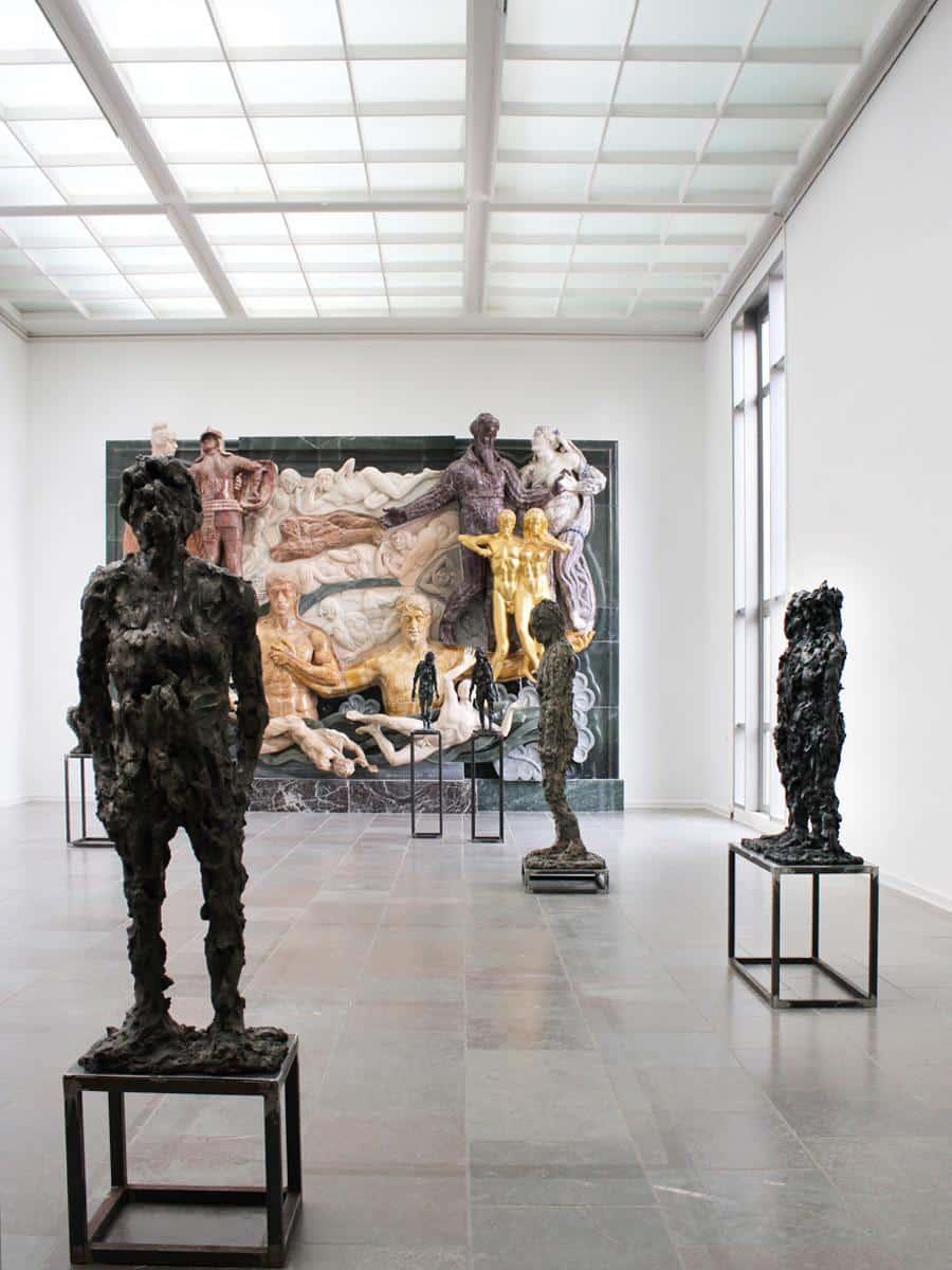 Tiden møder tiden Willumsens museum