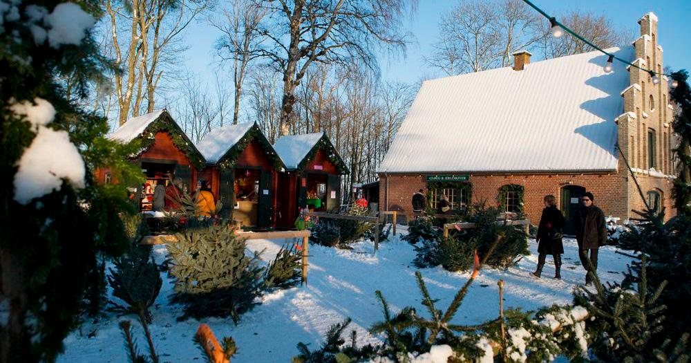 Jul på Ryegaard gods