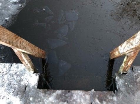 Vinterbadning Avnsø